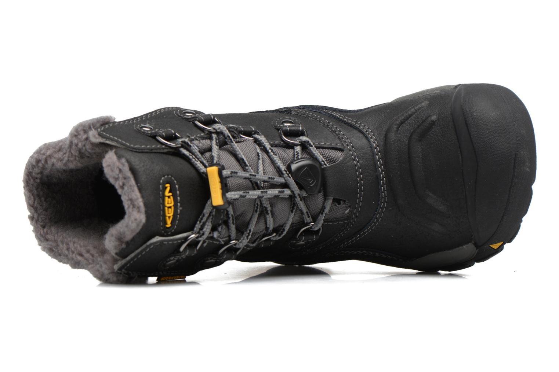Chaussures de sport Keen Basin WP Noir vue gauche