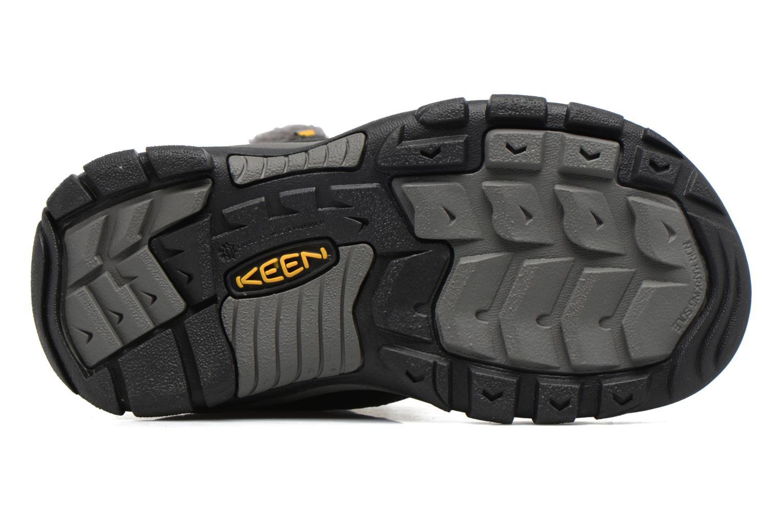 Chaussures de sport Keen Basin WP Noir vue haut