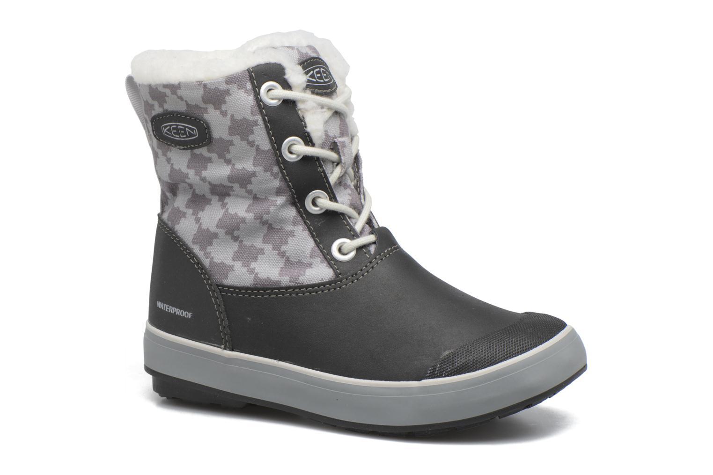 Elsa Boot WP Black/Houndstooth