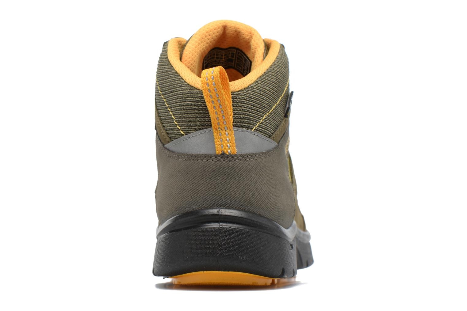 Hikeport Mid youth Dark Olive/Citrus