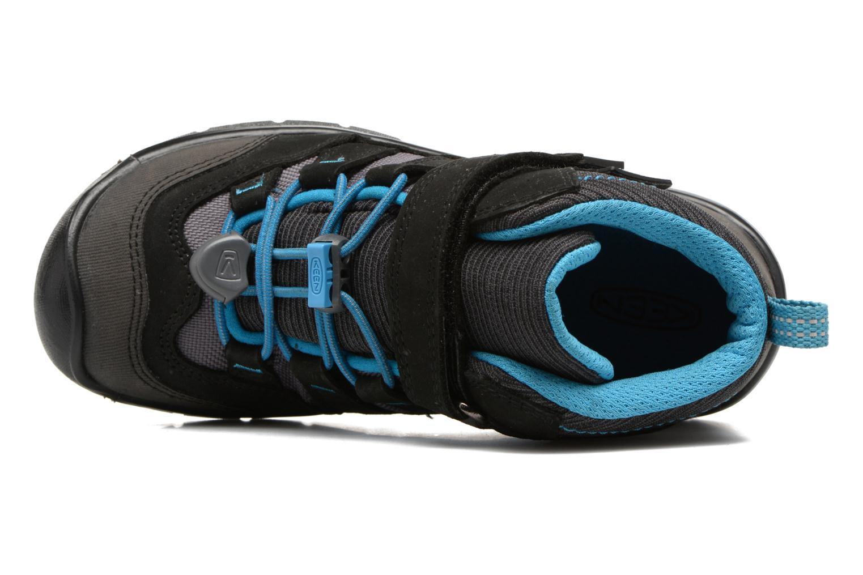 Hikeport Mid children Black/Blue Jewel