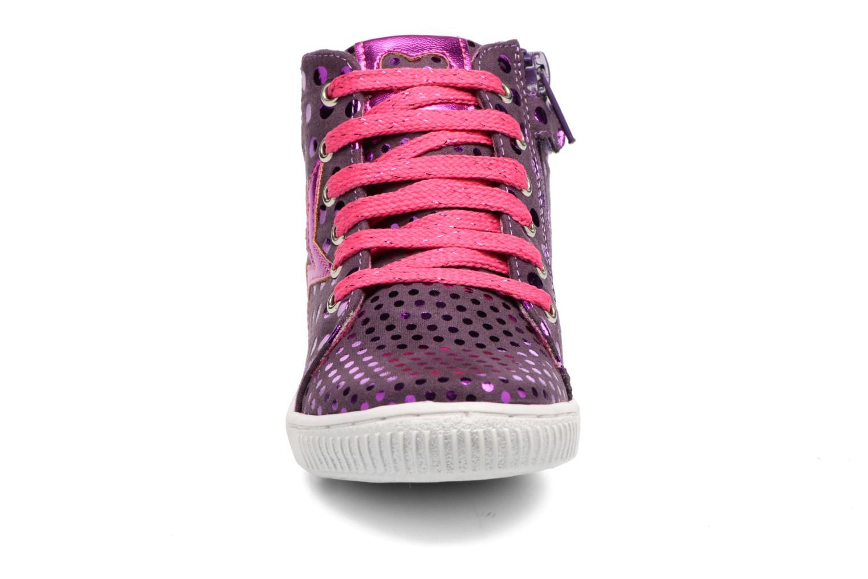 Baskets Agatha Ruiz de la Prada Flow 3 Violet vue portées chaussures