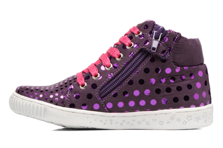 Baskets Agatha Ruiz de la Prada Flow 3 Violet vue face