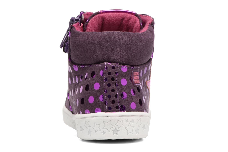 Baskets Agatha Ruiz de la Prada Flow 3 Violet vue droite