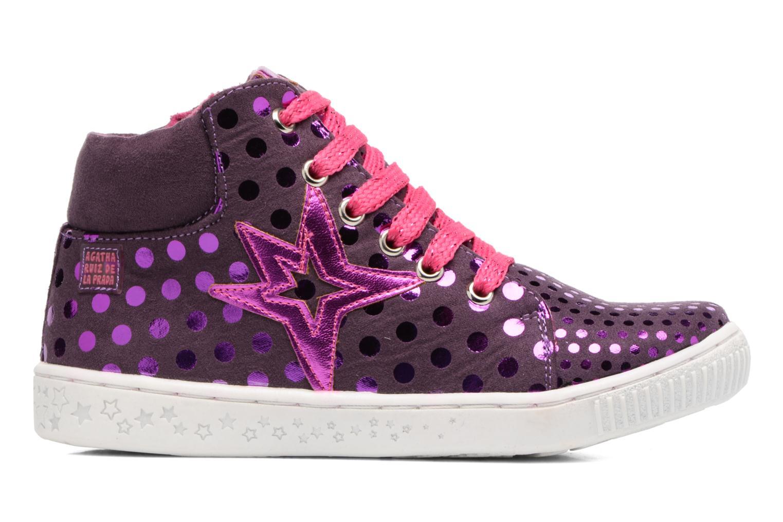 Baskets Agatha Ruiz de la Prada Flow 3 Violet vue derrière