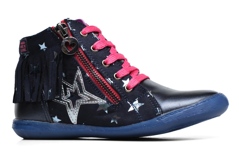 Baskets Agatha Ruiz de la Prada Clever Mid 3 Bleu vue derrière