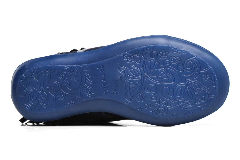 Baskets Agatha Ruiz de la Prada Clever Mid 3 Bleu vue haut