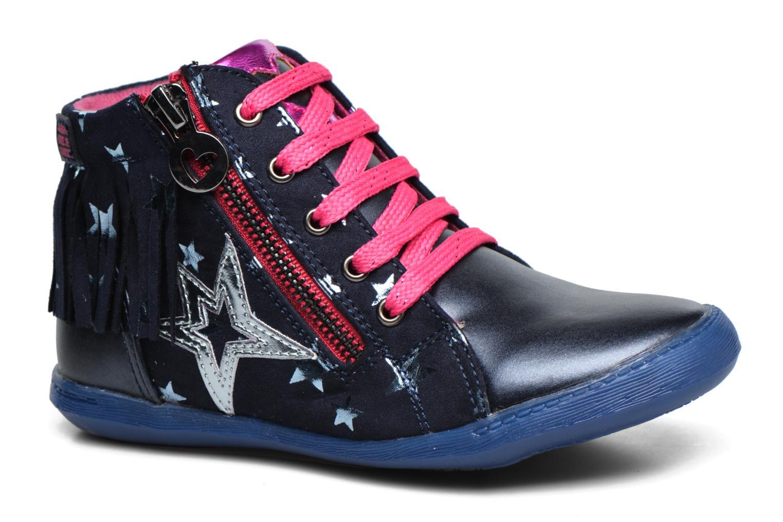 Baskets Agatha Ruiz de la Prada Clever Mid 3 Bleu vue détail/paire