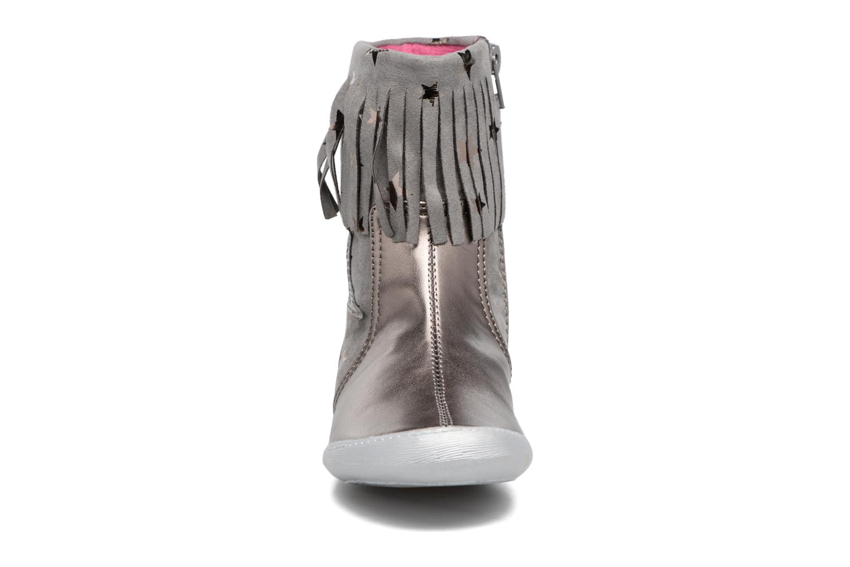 Bottes Agatha Ruiz de la Prada Clever Boots 3 Argent vue portées chaussures