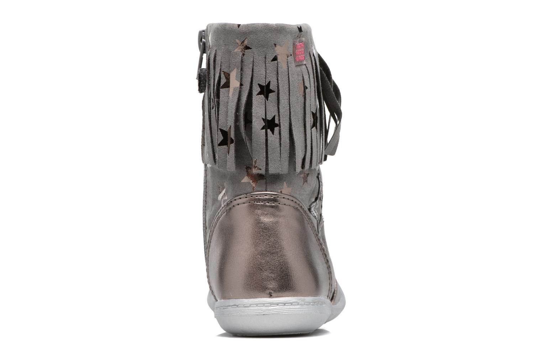 Bottes Agatha Ruiz de la Prada Clever Boots 3 Argent vue droite
