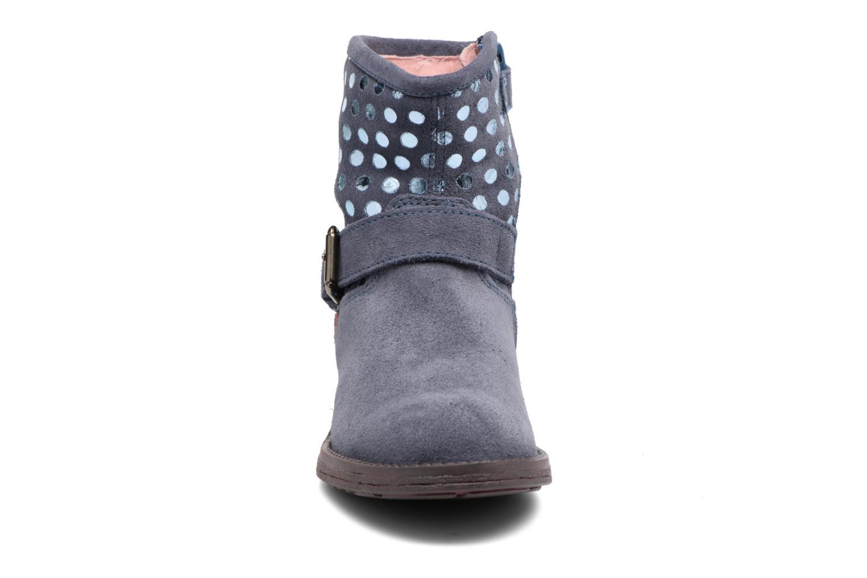 Bottines et boots Agatha Ruiz de la Prada Vagabunda Bleu vue portées chaussures