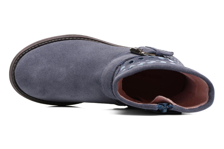 Bottines et boots Agatha Ruiz de la Prada Vagabunda Bleu vue gauche