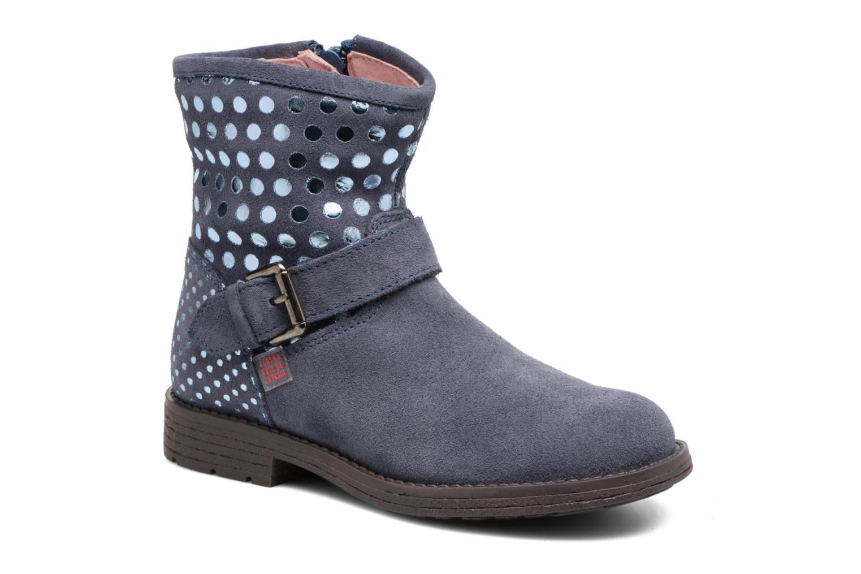 Bottines et boots Agatha Ruiz de la Prada Vagabunda Bleu vue détail/paire