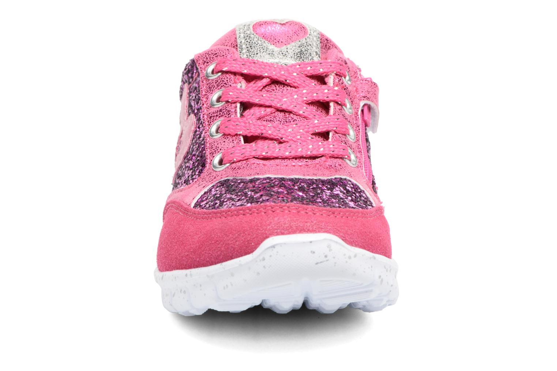 Baskets Agatha Ruiz de la Prada Running Rose vue portées chaussures
