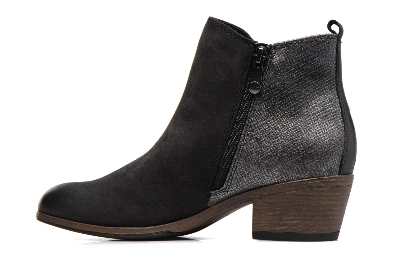 Bottines et boots Marco Tozzi Natasiz Noir vue face