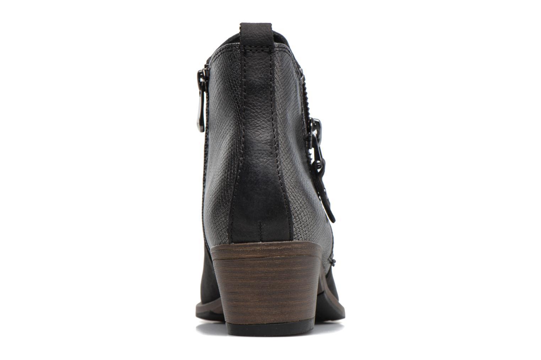 Bottines et boots Marco Tozzi Natasiz Noir vue droite