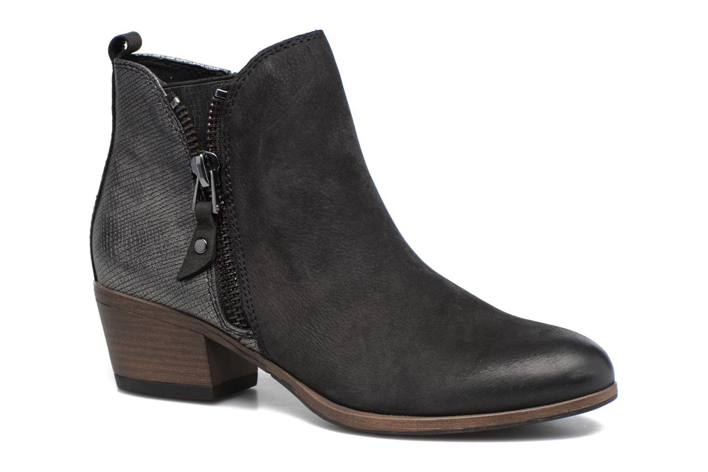 Bottines et boots Marco Tozzi Natasiz Noir vue détail/paire