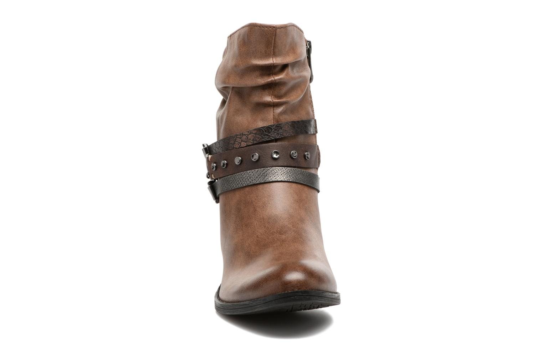 Bottines et boots Marco Tozzi Guppy 2 Marron vue portées chaussures