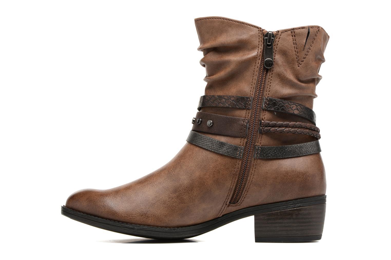 Bottines et boots Marco Tozzi Guppy 2 Marron vue face