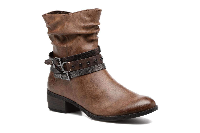Bottines et boots Marco Tozzi Guppy 2 Marron vue détail/paire