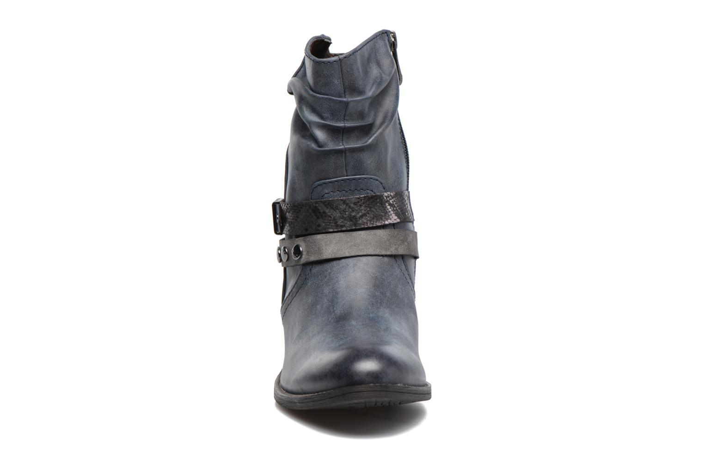 Bottines et boots Marco Tozzi Gappa Bleu vue portées chaussures