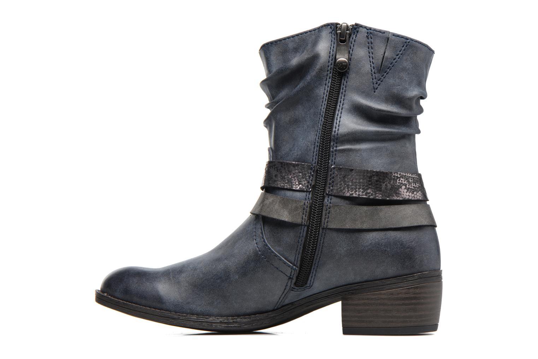 Bottines et boots Marco Tozzi Gappa Bleu vue face