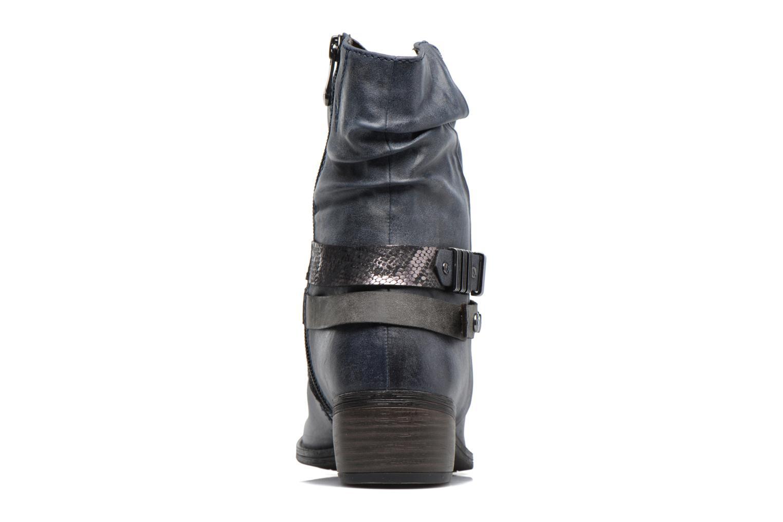 Bottines et boots Marco Tozzi Gappa Bleu vue droite