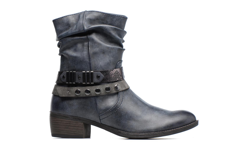 Bottines et boots Marco Tozzi Gappa Bleu vue derrière