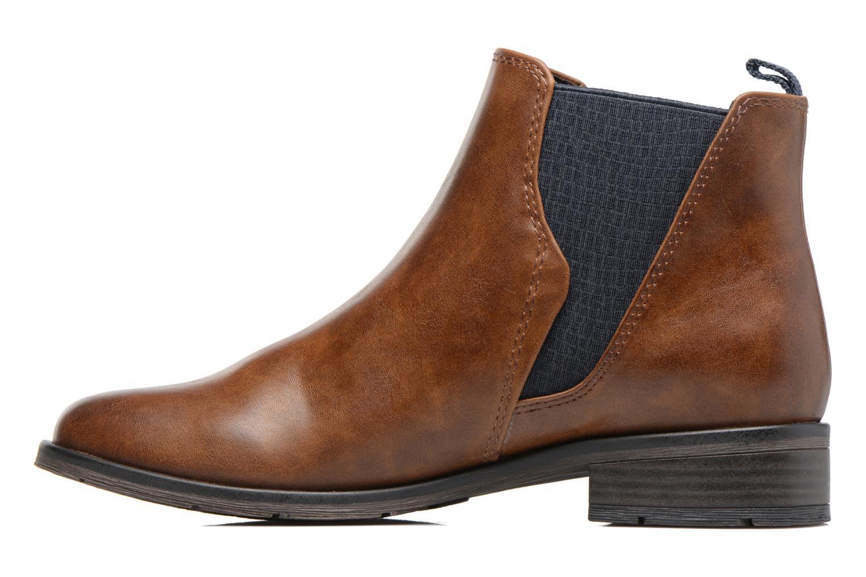 Bottines et boots Marco Tozzi Bapia Marron vue face