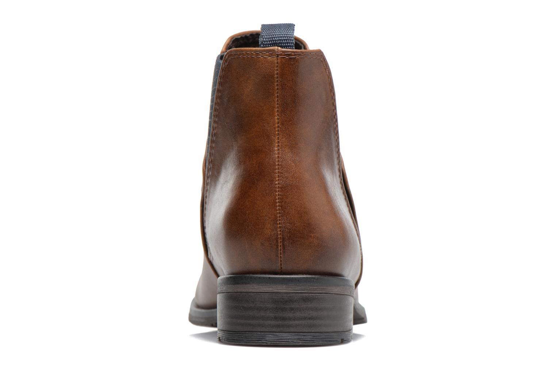 Bottines et boots Marco Tozzi Bapia Marron vue droite
