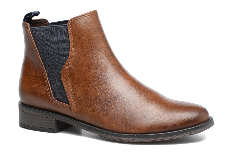 Bottines et boots Marco Tozzi Bapia Marron vue détail/paire