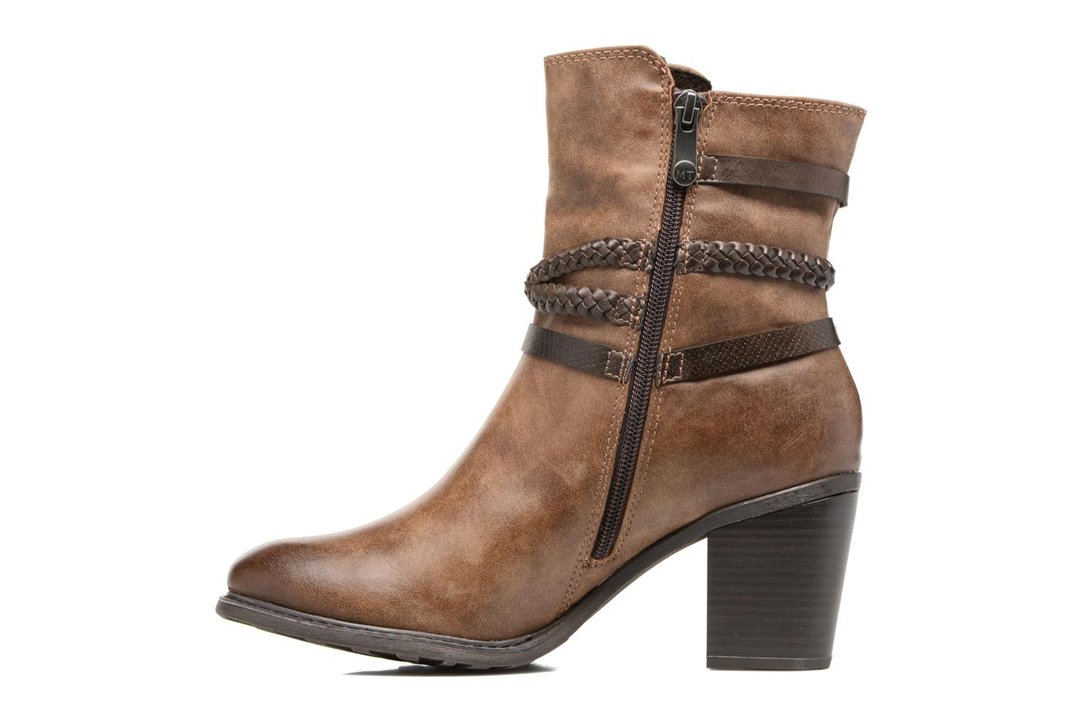 Bottines et boots Marco Tozzi Figoo Marron vue face