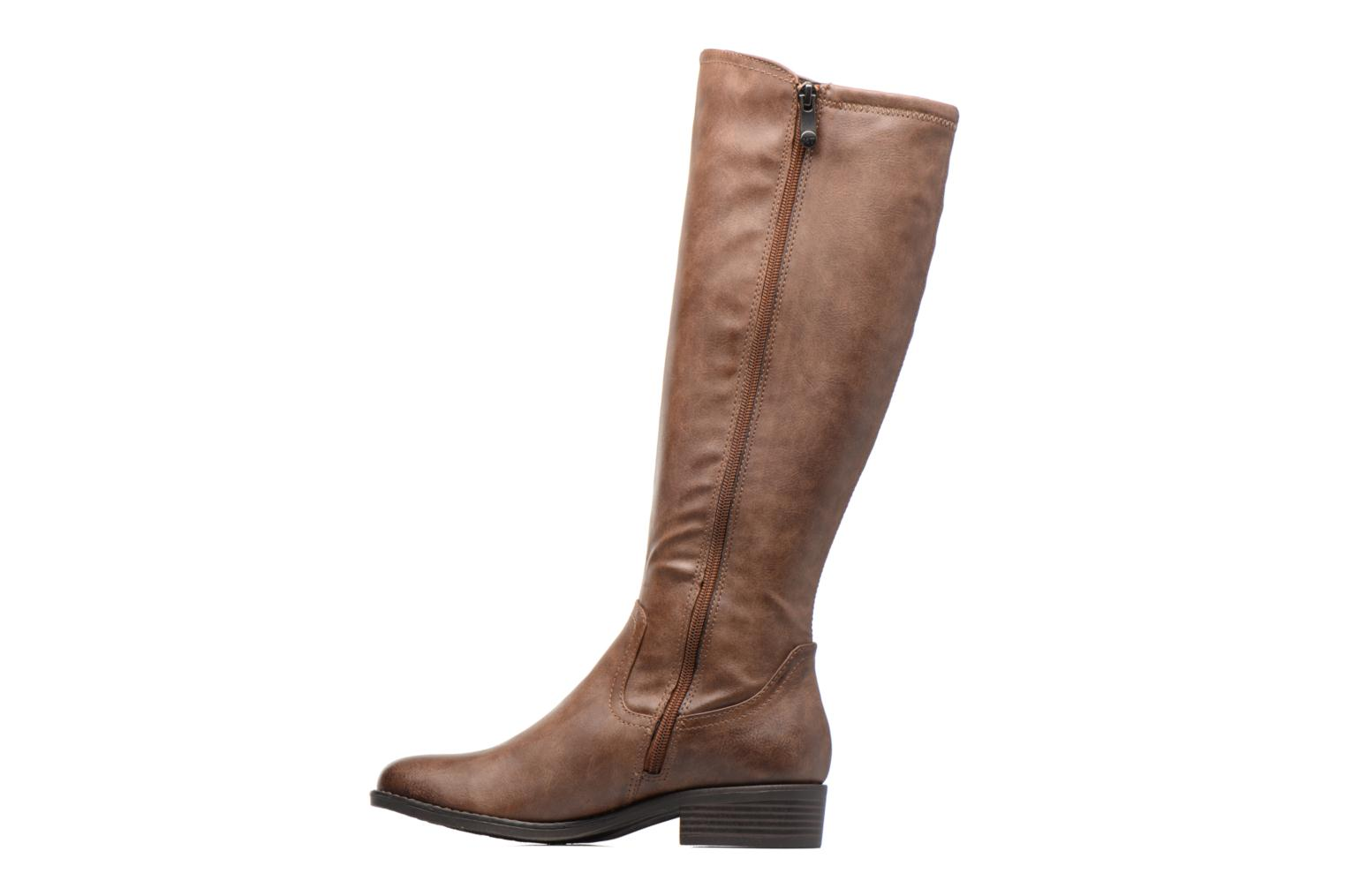 Boots & wellies Marco Tozzi Nili 2 Brown front view
