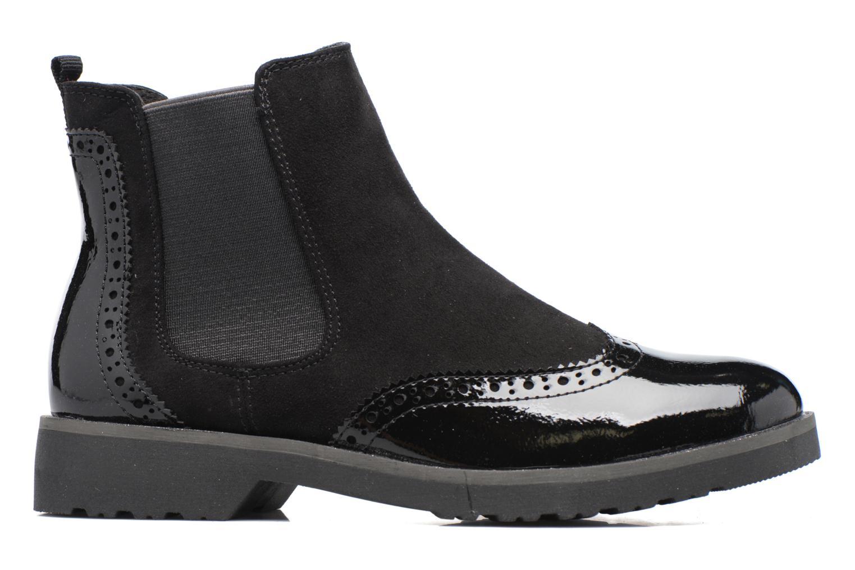 Bottines et boots Marco Tozzi Milie Noir vue derrière