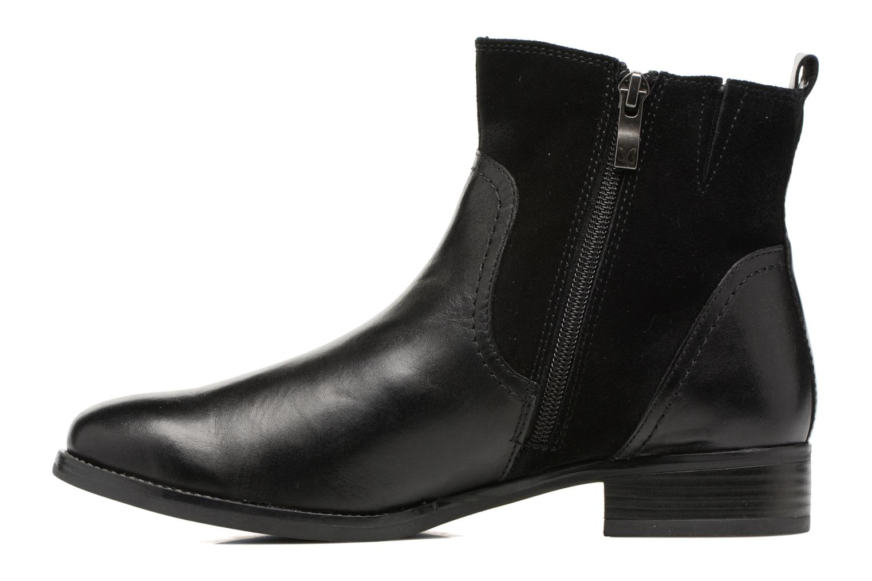 Bottines et boots Caprice Belen Noir vue face