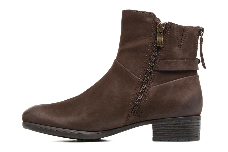 Boots en enkellaarsjes Caprice Dusty Bruin voorkant