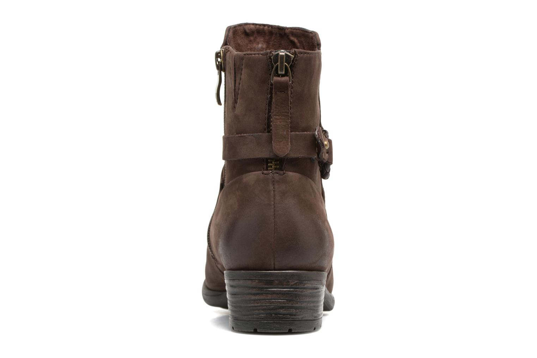 Boots en enkellaarsjes Caprice Dusty Bruin rechts