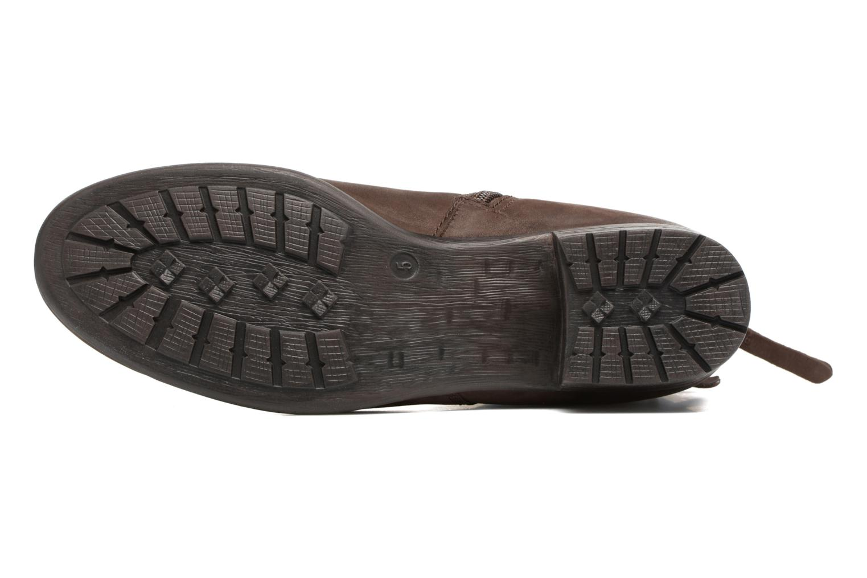 Bottines et boots Caprice Dusty Marron vue haut