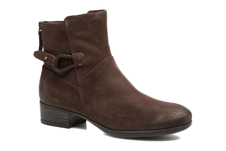 Boots en enkellaarsjes Caprice Dusty Bruin detail