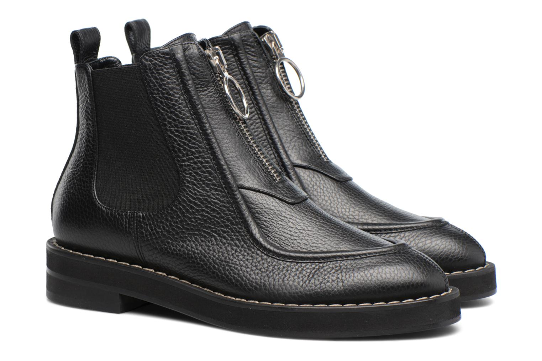 Bottines et boots Carven Orsay Bleu vue 3/4