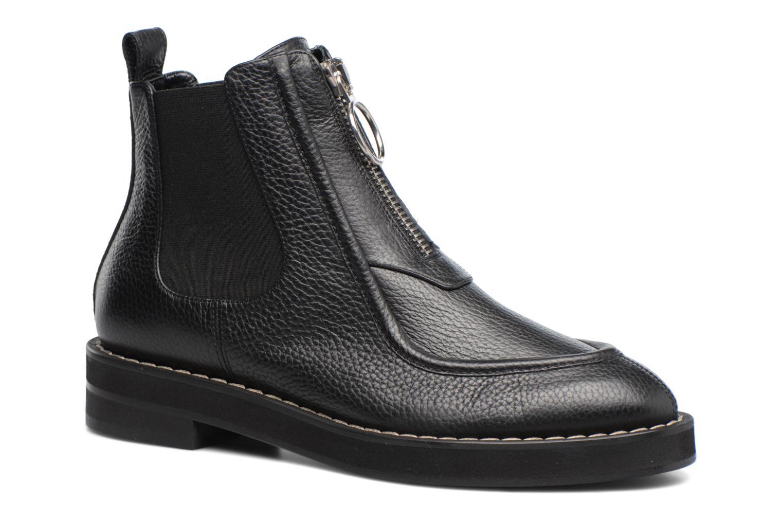 Bottines et boots Carven Orsay Bleu vue détail/paire