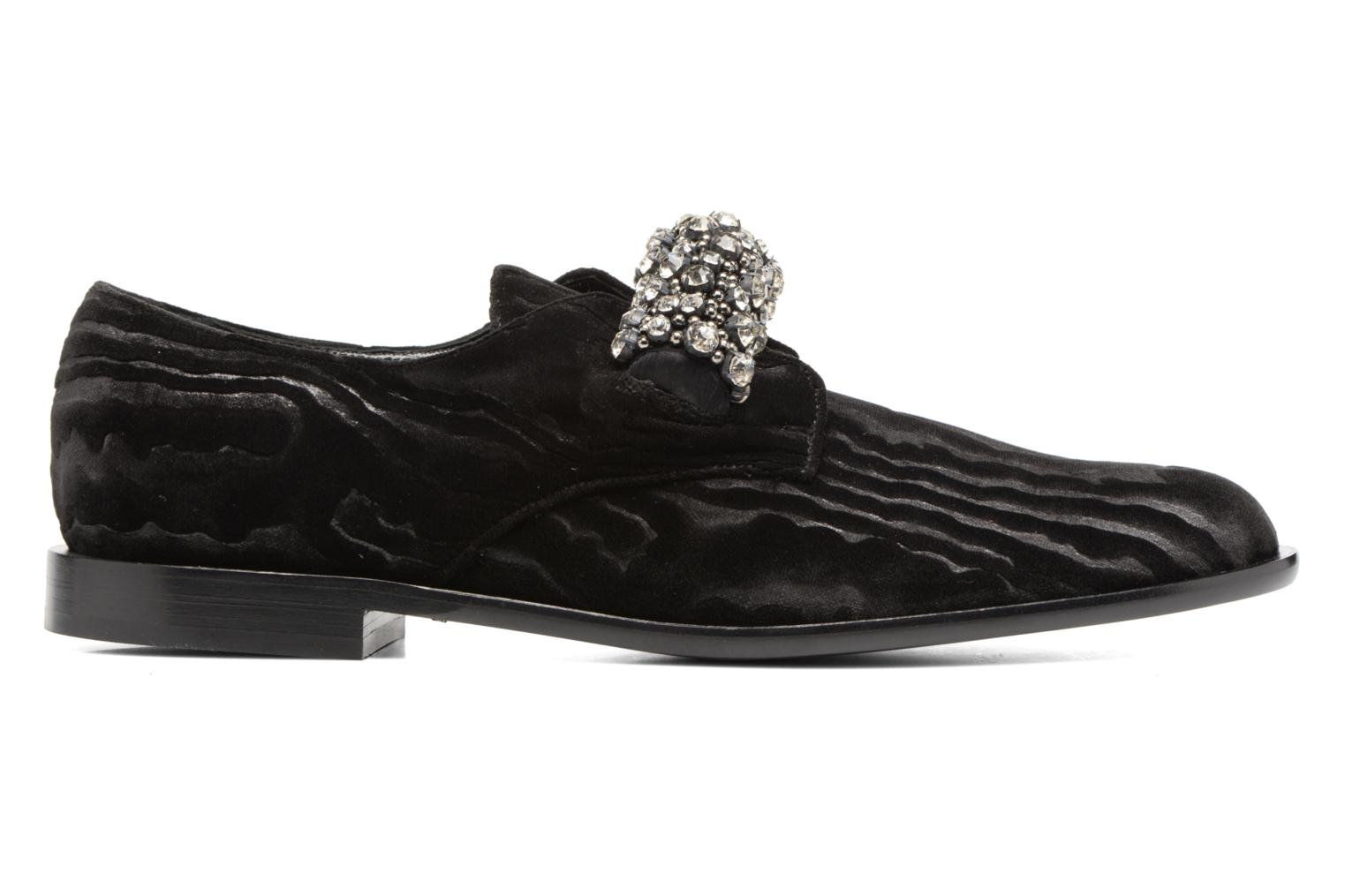 Mocasines Carven Sully Negro vistra trasera