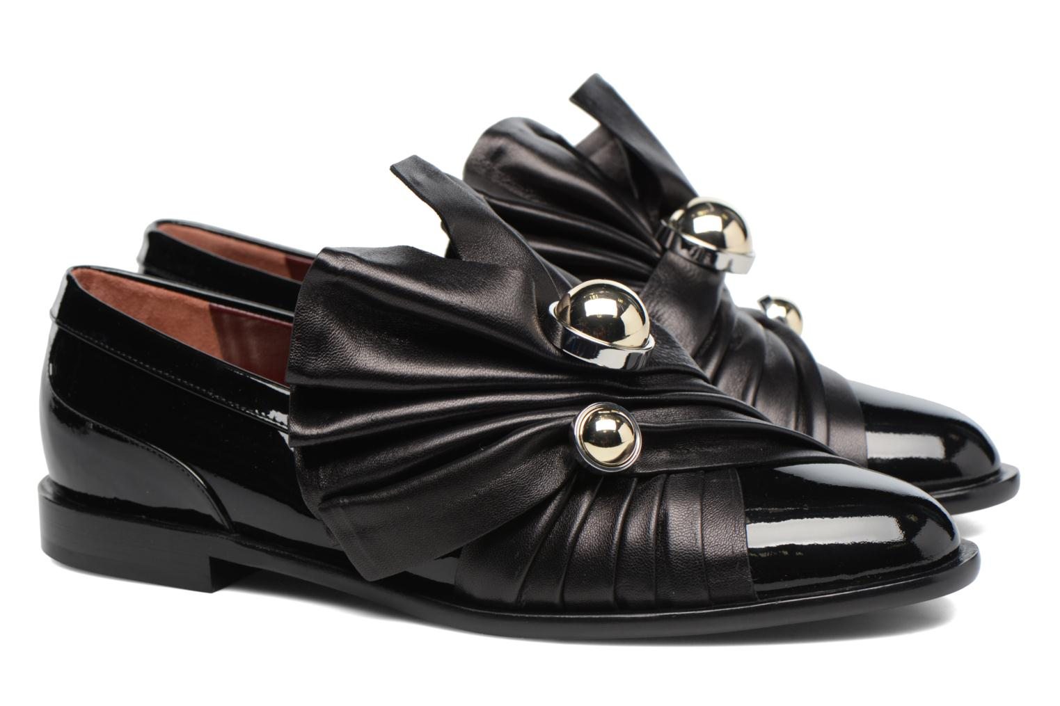 Loafers Carven Rosa Black 3/4 view