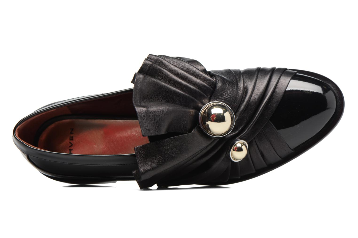 Loafers Carven Rosa Black view from the left