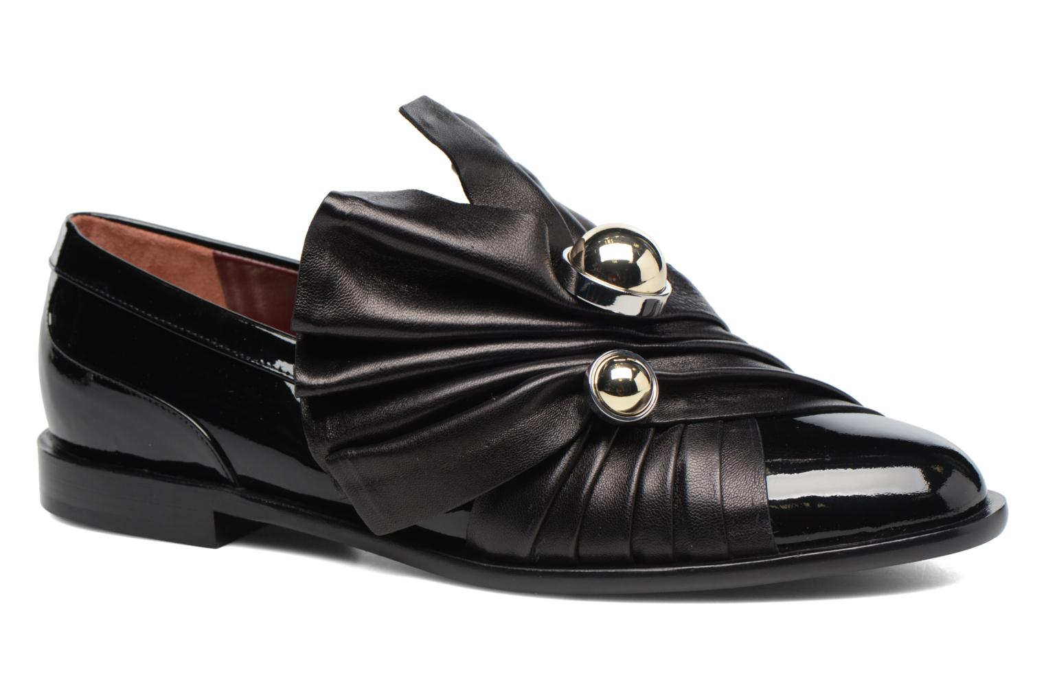 Marques Chaussure luxe femme G.H. Bass femme Weejun WMN Penny Slide 000 Black Leather