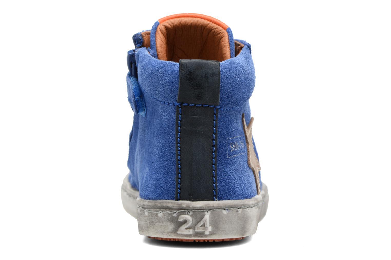 Baskets Shoesme Sébastien Bleu vue droite