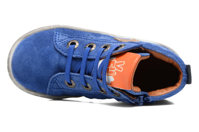 Sneakers Shoesme Sébastien Azzurro immagine sinistra