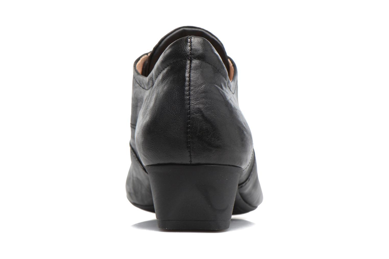 Chaussures à lacets Think! Karena 83180 Noir vue droite