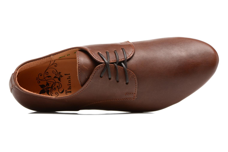 Chaussures à lacets Think! Guad 81290 Marron vue gauche