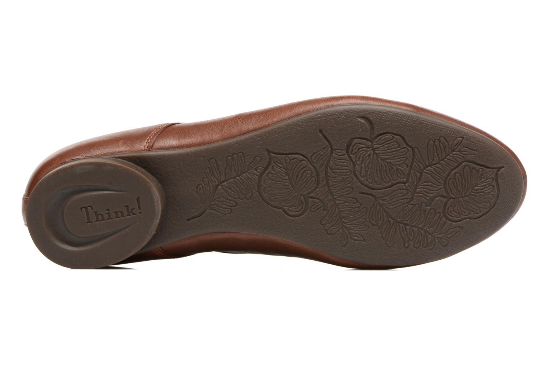 Chaussures à lacets Think! Guad 81290 Marron vue haut